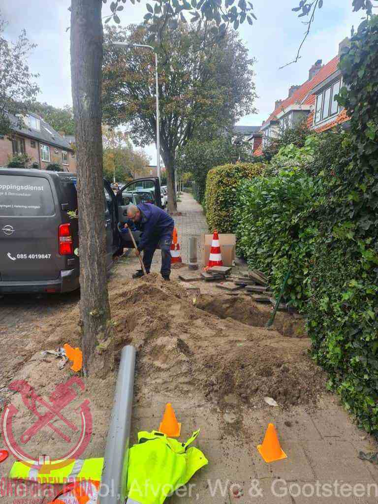 Graven riool Breda