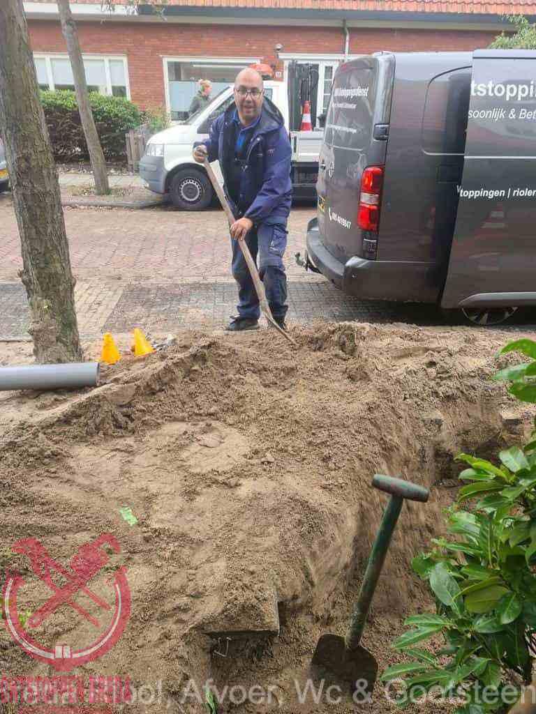 Riool ontstoppen Breda graven